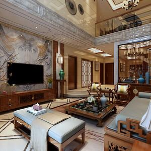 香山美墅 新古典风格 250平米 三室两厅装修