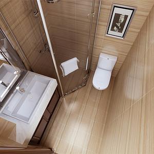 中式古典风格--卫生间