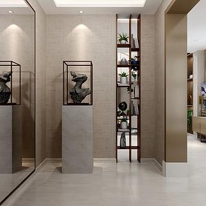 别墅-现代简约-前门厅