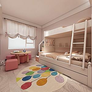 北欧装修风格儿童房效果图