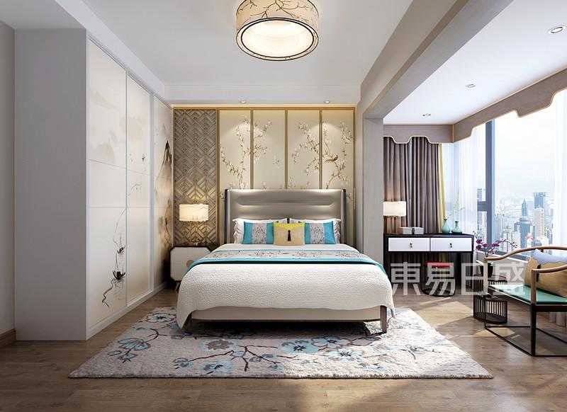 新中式主卧室装修设计