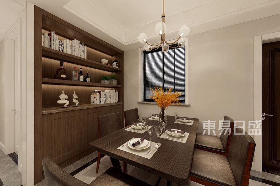 紫金府现代简约风格餐厅效果图