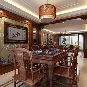 中式古典风格--餐厅