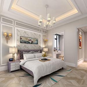 碧桂园311平米新古典法式别墅装修效果图