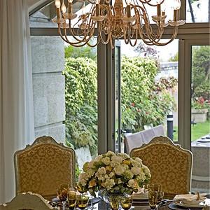 欧式古典风格餐厅效果图