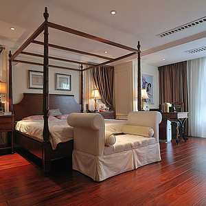 意式地中海式结合卧室2