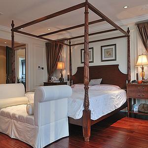 意式地中海式结合卧室1