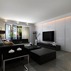 现代客厅-客厅