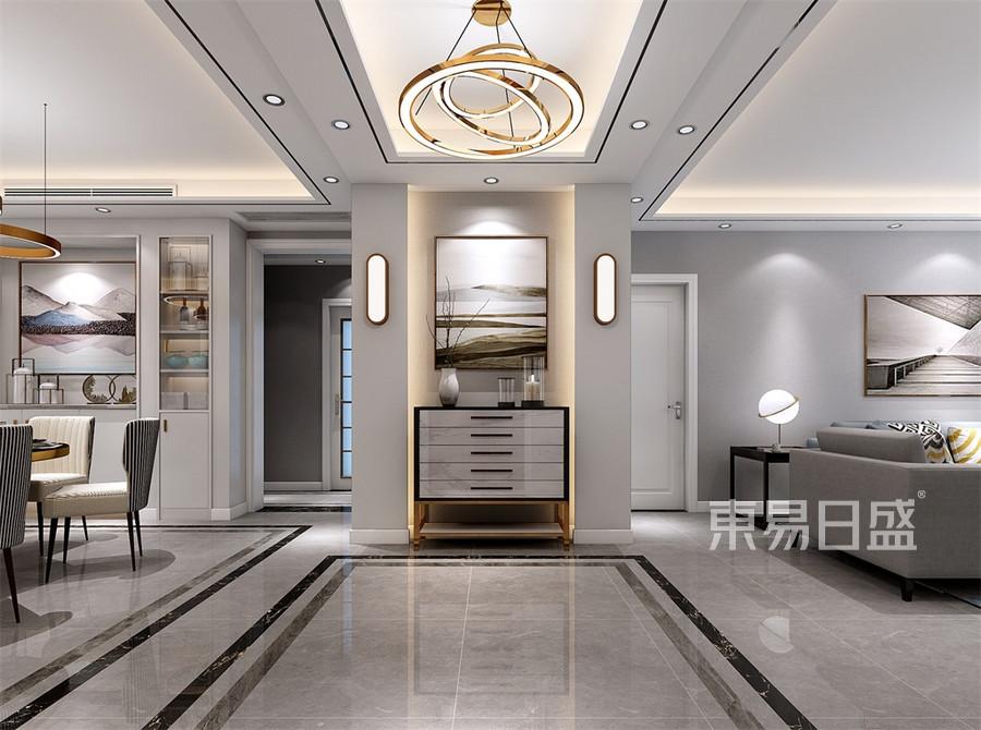 三居室-现代简约-玄关-效果图效果图   分享  收藏  空间  风格 元素图片