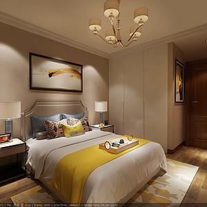 尚景新世界-卧室-效果图