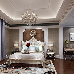 泊岸森邻别墅540平米古典欧式风格设计