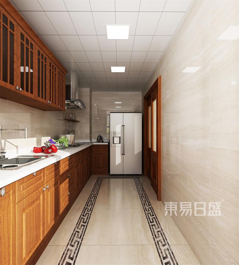 新中式-厨房效果图_装修效果图大全2018图片 1178664
