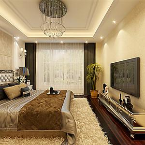 红星国际现代风格卧室装修效果图