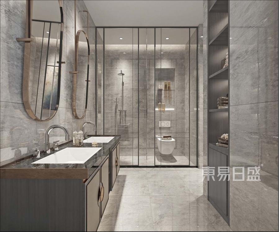 新中式风格卫生间装修设计