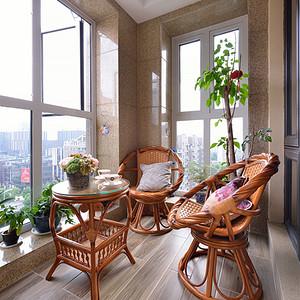 新古典风格阳台装修图