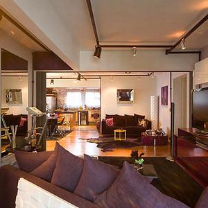 南湖小区-客厅装修效果图