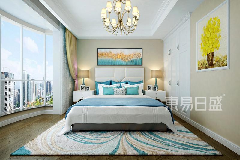 现代美式主卧室装修
