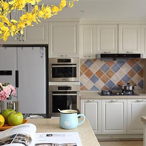 熊猫汇智家园130㎡美式风格厨房