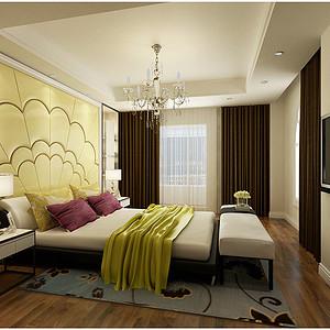 华纳豪园现代风格卧室装修效果图