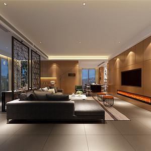 瑞安自建别墅235平现代简约风格设计装修效果图