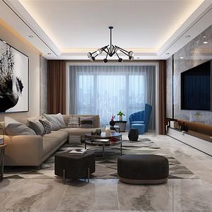 现代简约-客厅