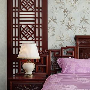 碧桂园翡翠岛240平中式古典风格装修