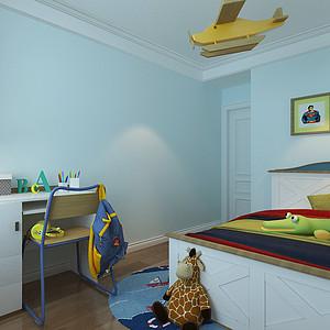 简美风格-儿童房-装修效果图