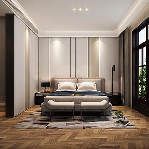 凯德麓语-现代简约风格-卧室