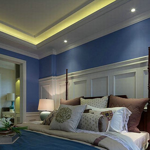 西山意境-卧室装修效果图