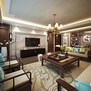 客厅造型简单的中式家具