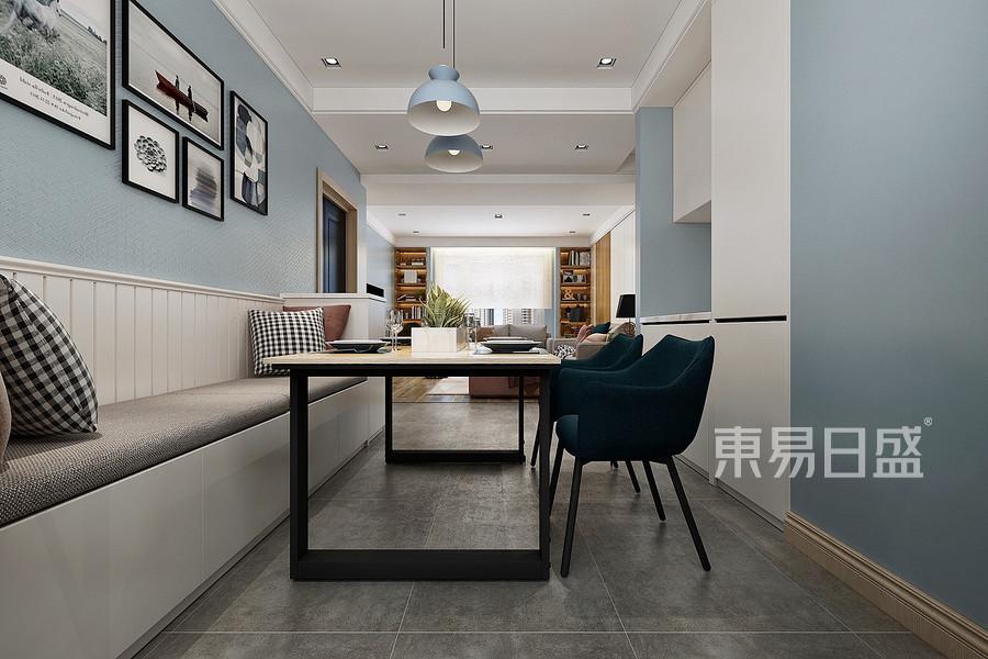 135平米格調琦園現代簡約風格餐廳裝修效果圖