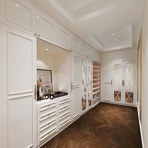 乾顺国际豪庭250平雅致主义设计装修效果图
