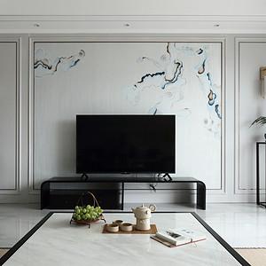 卧龙湖小镇140平新中式风格装修图