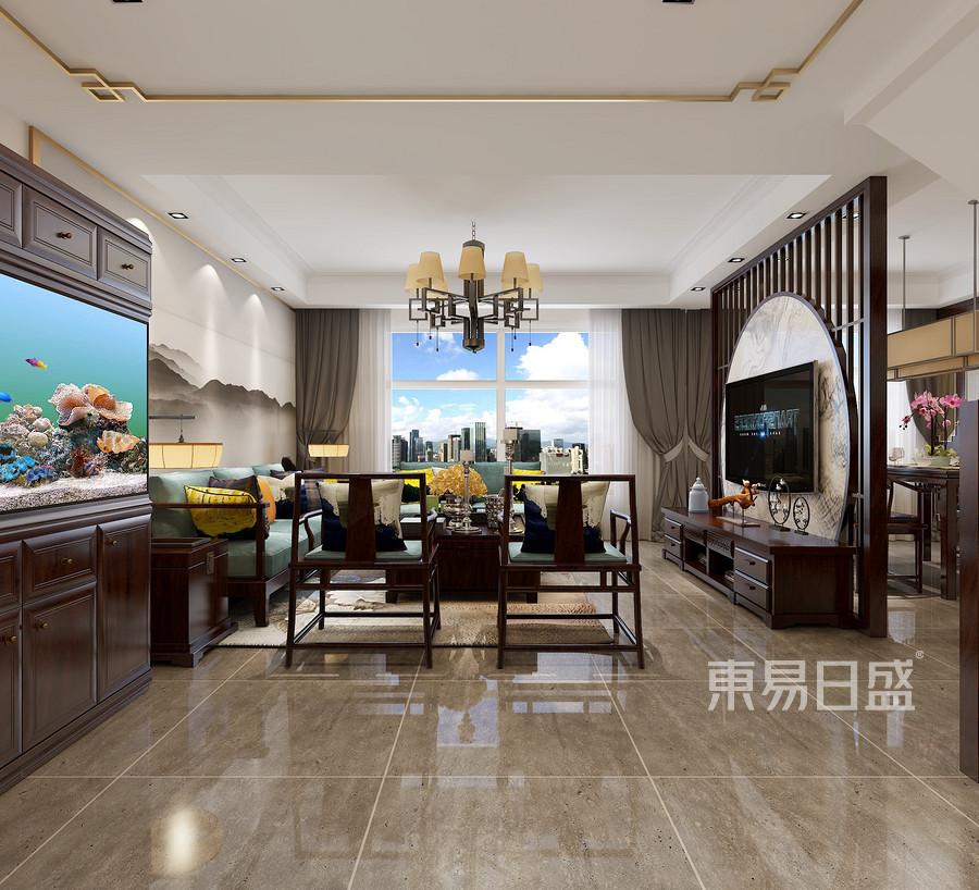 中国风简约客厅装饰设计方法