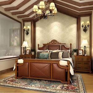 现代美式-卧室