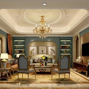 碧桂园1500平米欧式古典别墅