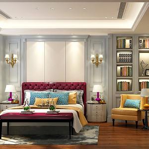 中信墅-美式现代-卧室