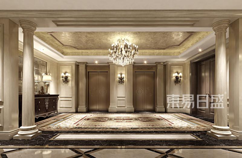 古典欧式风格电梯门效果图_装修效果图大全2018图片