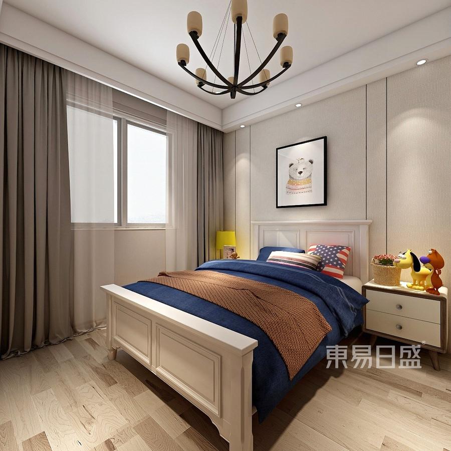 125平米融创臻园现代简约风格儿童房装修效果图