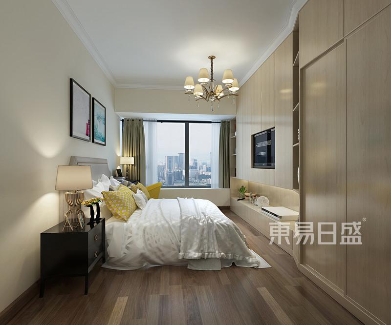 卧室现代简约装修效果图