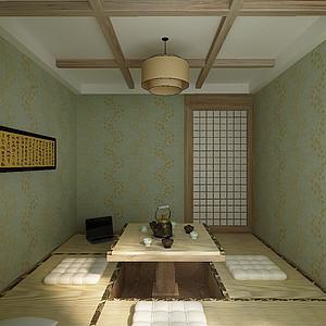 大连现代简约装修-和室