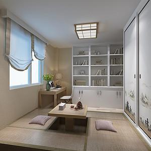 大龙公寓 现代简约 卧室装饰