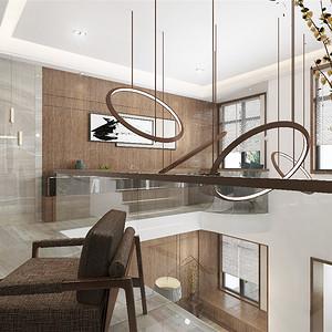 莱蒙国际翰吉斯现代风格庭院装修效果图