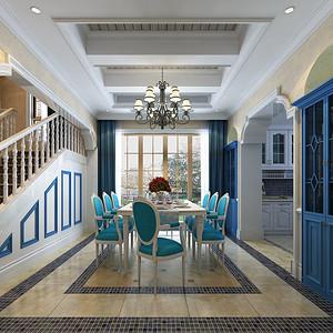青竹园500平米地中海风格别墅