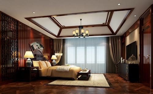 碧桂园720平米中式风格别墅