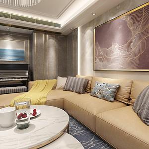 复地东湖国际270平米轻奢风格四室两厅效果图