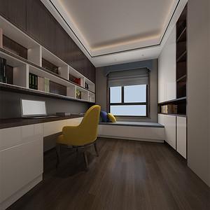 现代简约-书房