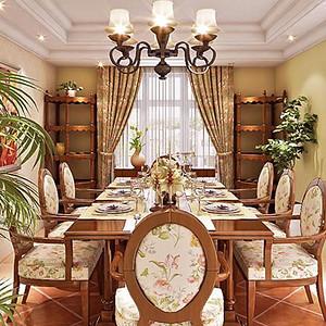 檀香山-美式-餐厅
