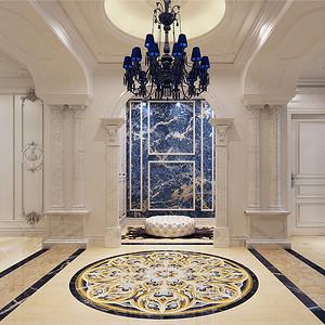 首开璞瑅紫方园-欧式古典-198平米