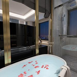 复地东湖国际270平米轻奢风格四室两